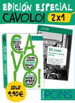 CAVOLO! 2 X 1 (DICCIONARIO ITALIANO/ESPAÑOL ESPAÑOL/ITALIANO) + GUÍA ALTERNATIVA