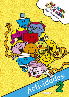 MR. MEN & LITTLE MISS - ACTIVIDADES 2