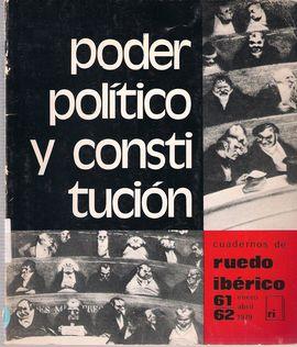 PODER POLÍTICO Y CONSTITUCIÓN