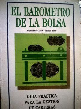 BARÓMETRO DE LA BOLSA, EL