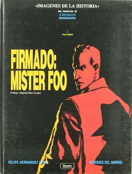 FIRMADO MISTER FOO