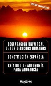 DERECHOS HUMANOS, CONSTITUCIÓN ESPAÑOLA, ESTATUTO ANDALUCÍA