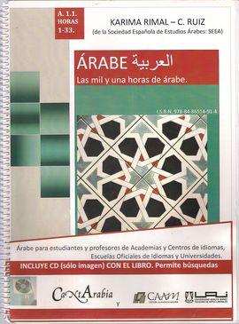 LAS MIL Y UNA HORAS DE ÁRABE, ÁRABE, A.1.1, HORAS 1-33