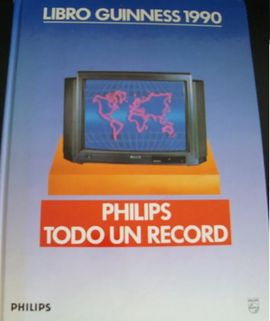 LIBRO GUINNESS DE LOS RECORDS 1990