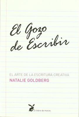 EL GOZO DE ESCRIBIR