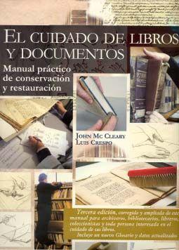EL CUIDADO DE LIBROS Y DOCUMENTOS