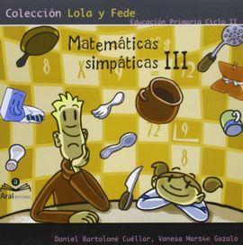 MATEMÁTICAS SIMPÁTICAS III, EDUCACIÓN PRIMARIA