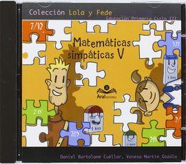 MATEMÁTICAS SIMPÁTICAS V, EDUCACIÓN PRIMARIA