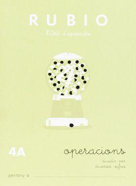 RUBIO, L'ART D'APRENDRE. OPERACIONS 4A