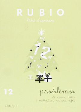 RUBIO L'ART D'APRENDRE. PROBLEMES 12