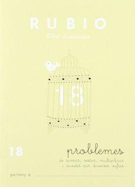 RUBIO L'ART D'APRENDRE. PROBLEMES 18