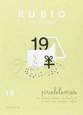 RUBIO L'ART D'APRENDRE. PROBLEMES 19