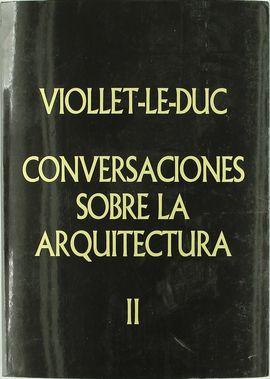 CONVERSACIONES SOBRE LA ARQUITECTURA