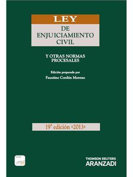 LEY DE ENJUICIAMIENTO CIVIL (PAPEL + E-BOOK) - Y OTRAS NORMAS PROCESALES