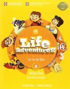 LIFE ADVENTURES. ACTIVITY BOOK WITH HOME BOOKLET AND ONLINE ACTIVITIES. LEVEL 2