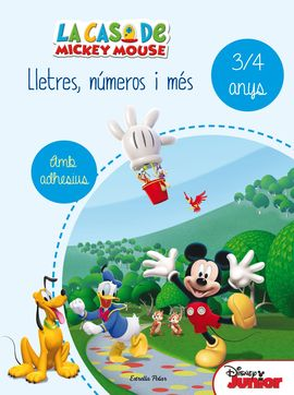 LA CASA DE MICKEY MOUSE. LLETRES, NÚMEROS I MÉS 3/4