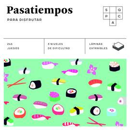 PASATIEMPOS VARIADOS (CUADRADOS DE DIVERSIÓN)