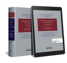 TRATADO DE DERECHO DE LA FAMILIA (VOLUMEN VIII) (PAPEL + E-BOOK)