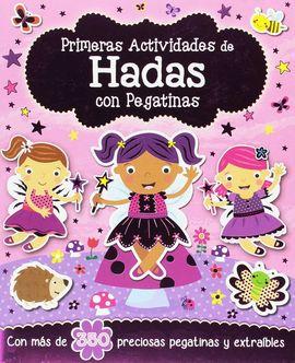 HADAS CON PEGATINAS PRIMERAS ACTIVIDADES