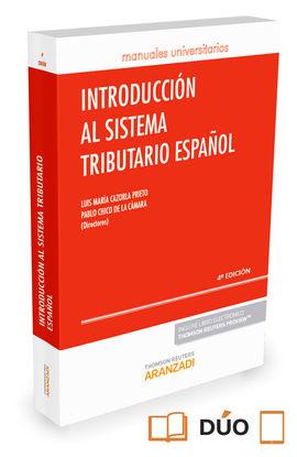 INTRODUCCIÓN AL SISTEMA TRIBUTARIO ESPAÑOL (PAPEL+E-BOOK)