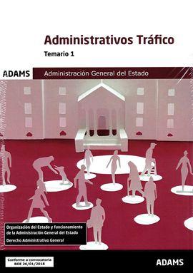 TEMARIO 1 ADMINISTRATIVOS DE LA ADMINISTRACIÓN GENERAL DEL ESTADO, ESPECIALIDAD