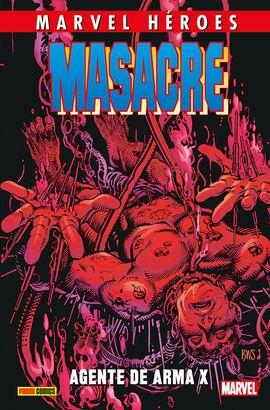 MASACRE 4. AGENTE DE ARMA X