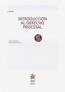 INTRODUCCIÓN AL DERECHO PROCESAL 9ª EDICIÓN 2017