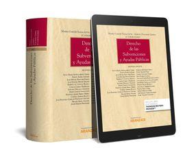 DERECHO DE LAS SUBVENCIONES Y AYUDAS PÚBLICAS (PAPEL + E-BOOK)