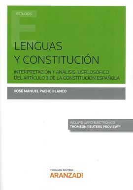 LENGUAS Y CONSTITUCIÓN