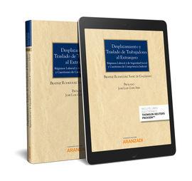 DESPLAZAMIENTO Y TRASLADO DE TRABAJADORES AL EXTRANJERO (PAPEL + E-BOOK)