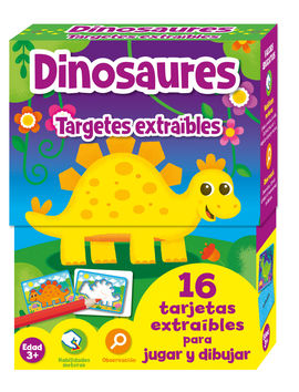 TARGETES EXTRAIBLES DINOSAURES