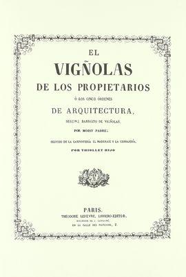 REGLA DE LAS CINCO ÓRDENES DE ARQUITECTURA