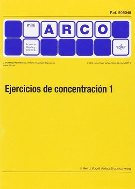 EJERCICIOS DE CONCENTRACIÓN 1