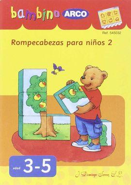 ROMPECABEZAS PARA NIÑOS 2. BAMBINO ( REF. 545032)