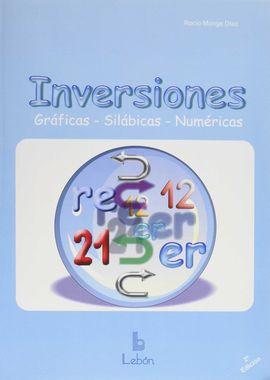 INVERSIONES GRÁFICAS, SILÁBICAS Y NUMÉRICAS