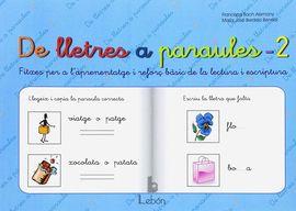 DE LLETRES A PARAULES 2