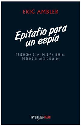 EPITAFIO PARA UN ESPÍA