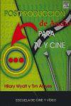 POSTPRODUCCIÓN DE AUDIO PARA T.V. Y CINE