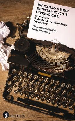 UN EXILIO DESDE DENTRO: ÉTICA Y LITERATURA