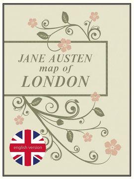 JANE AUSTEN MAP OF LONDON
