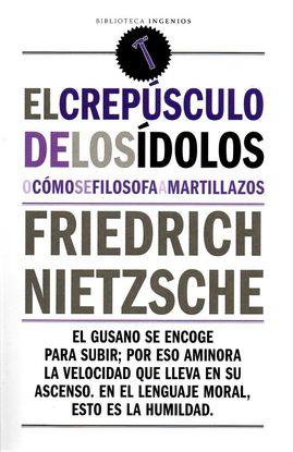 CREPUSCULO DE LOS IDOLOS,EL
