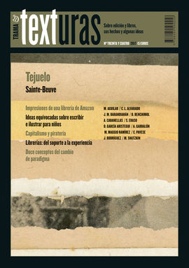 TEXTURAS 34: LITERATURA INDUSTRIAL, LIBRERÍAS, AMAZON
