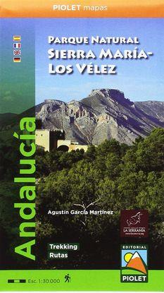 PARQUE NATURAL SIERRA MARÍA-LOS VÉLEZ 1:30.000 MAPA EXCURSIONISTA.