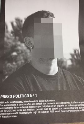 PRESOS POLÍTICOS DEL SIGLO XXI
