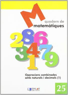MATEMATIQUES - QUADERN 25
