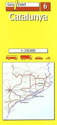 CATALUNYA 1:250.000, 1 CM=2,5 KM
