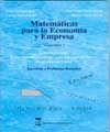 MATEMÁTICAS PARA LA ECONOMÍA Y EMPRESA: VOLUMEN 3, CÁLCULO INTEGRAL, ECUACIONES