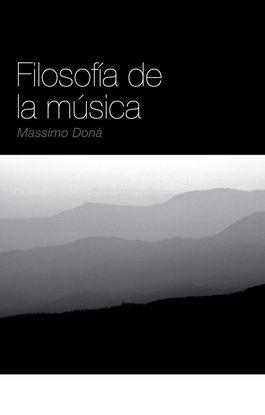 FILOSOFÍA DE LA MÚSICA