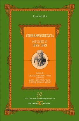 CORRESPONDENCIA. VOLUMEN VI. (1895-1899)                                       .