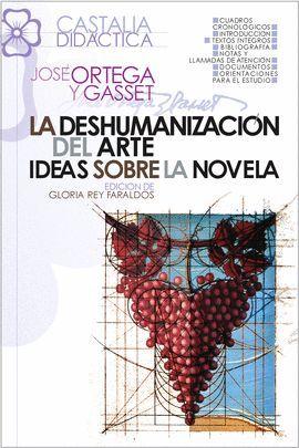 DESHUMANIZACIÓN DEL ARTE. IDEAS SOBRE LA NOVELA, LA